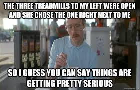 Treadmill Meme - treadmill running versus outdoors which is more effective