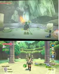 Skyward Sword Map Not Sure If Anybody Has Noticed This Yet But The Springs From