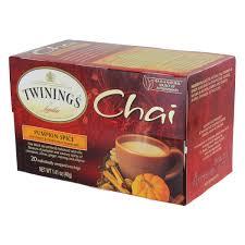twinings chai tea pumpkin spice