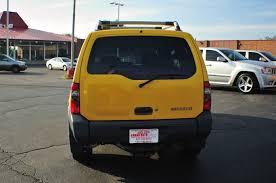 nissan 2000 4x4 2000 nissan xterra se yellow 4x4 sport suv
