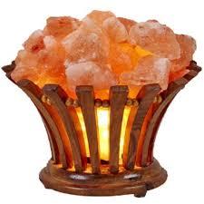 ebay himalayan salt l genuine himalayan salt l wooden basket vitamin of the air ul