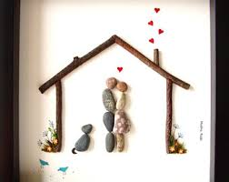 Best Wedding Present Best Wedding Gift Pebble Art Gift For Him And Her Dog