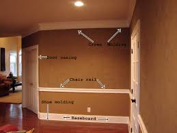 home decorate ideas decorating awesome baseboard molding for home decoration ideas