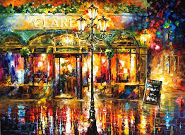 clarens u2014 palette knife oil painting on canvas by leonid afremov