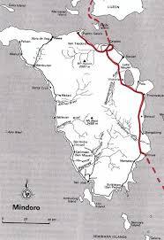 san jose mindoro map philippines route descriptions maps ride the road