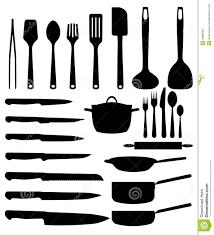 dessin ustensile de cuisine ustensile de cuisine illustration stock illustration du couteau