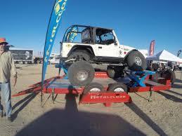 4 door jeep rock crawler pro comp wrangler steel series 98 rock crawler gloss black wheel