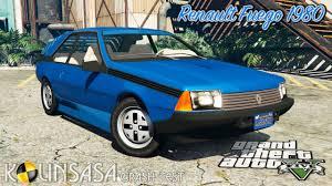 1982 renault fuego gta 5 crash test renault fuego 1980 youtube