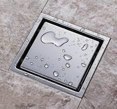square linear shower drain shower floor drain homerises