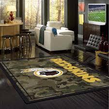 Camo Area Rug Washington Redskins Nfl Team Camo Rug Fan Rugs