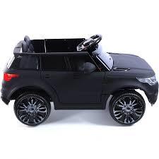 jeep black matte compact hse range rover style 12v child u0027s ride on jeep matte black