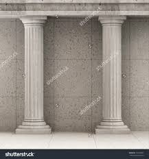 Elegant Home Design New York Interior Decorative Columns Elegant House Tuscan Wood Column