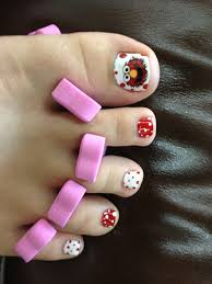elmo toes sesame street nail art beauty pinterest elmo