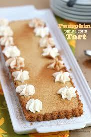 light pumpkin dessert recipes pumpkin pie panna cotta tart recipe