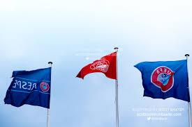 Flag Of Cameron Europa League Qualifiers Underway Scott Cameron Baxter