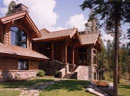 mountain chalet house plans mountain house plans with fantastic front rear views