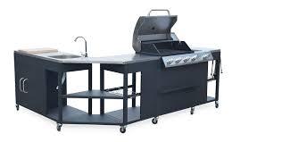 cuisiner avec barbecue a gaz cuisine d extérieure d été barbecue au gaz 5 brûleurs