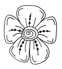 free flower coloring pages ngbasic com