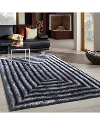 5 X7 Area Rug New Savings On Vibrant Rectangular Zen Design Grey Silver