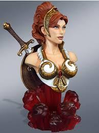 Teela And Evil Lyn - new teela bust by tweeterhead he man world