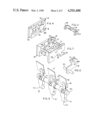 patent us4503408 molded case circuit breaker apparatus having