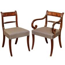 Antique Regency Dining Chairs Set Of 18 Regency Dining Chairs At 1stdibs