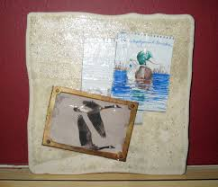 coaster craft using ceramic tile u0026 magazine cut outs rustic