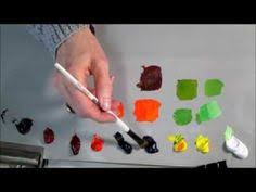 mixing paint mixing color acrylic paint art tutorial