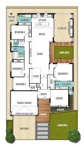 house plans single story single storey house design plan the 4bed 2bath 2car