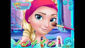 frozen prom makeup design frozen game top baby games for kids 2016