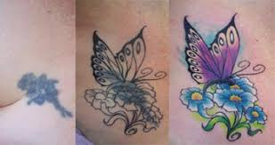 butterfly ankle tattoos cover up pictures to pin on pinterest