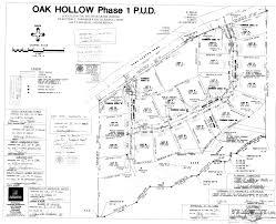 plat maps oak hollow tridestin group utah real estate