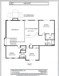 1 1 2 story floorplans