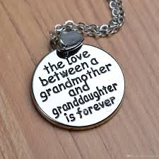 grandmother and granddaughter necklaces wholesale 2017 family christmas gift the between grandmother