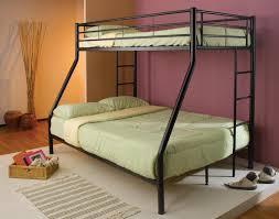 Bunk Bed With Cot Bedroomdiscounters Bunk Beds Metal
