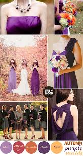 Purple And Orange Color Scheme Help With Wedding Color Scheme Weddingplanning