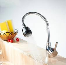 Gooseneck Kitchen Faucet With Pull Out Spray by Gooseneck Kitchen Faucet Promotion Shop For Promotional Gooseneck