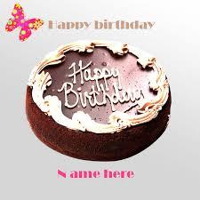 write beautiful happy birthday cake gif gifaya