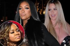 porsha williams porsha williams ditches phaedra parks befriends kim zolciak for
