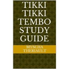 tikki tikki tembo worksheets tikki tikki tembo teaching unit with activities lesson plans