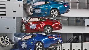 challenger camaro mustang crash tests 2016 car mustang camaro