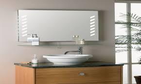Lighted Bathroom Wall Mirrors Lighted Bathroom Wall Mirror Illuminated Bathroom Wall Mirror
