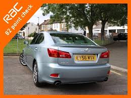 lexus woodford woodford green used 2006 lexus is 250 2 5 se 4dr for sale in croydon pistonheads