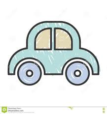 car toy clipart baby car toy stock vector image 79810328