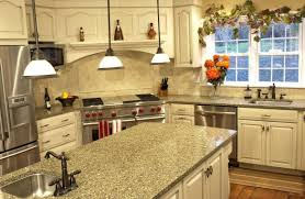 kitchen butcher block island granite countertop painting knotty pine kitchen cabinets