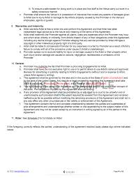 live promoter artist contract template