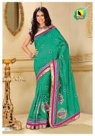 saree raw silk sari in pista green color a muhenera craftsvilla