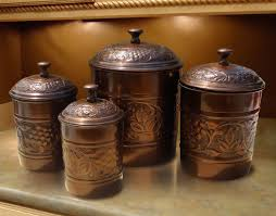 Brown Kitchen Canister Sets by Old Dutch Heritage 4 Piece Kitchen Canister Set U0026 Reviews Wayfair