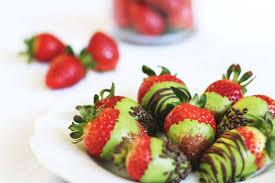 White Chocolate Dipped Strawberries Aiya U0027s Blog Valentine U0027s Day Matcha White Chocolate Covered