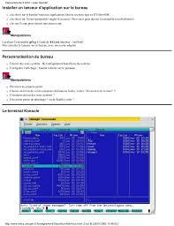 installer sur le bureau linux système administration et services réseaux